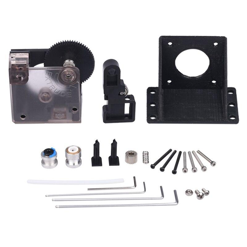 3D Drucker Teile Titan Extruder Voll Kits Mit Nema 17 Schrittmotor Für V6 J-kopf Bowden Extruder 1,75/3,0mm Feeder Halterung