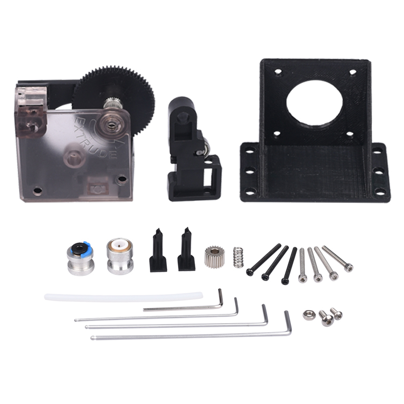 3D Printer Parts Titan Extruder Fully Kits With Nema 17 Stepper Motor For V6 J-head Bowden Extruder 1.75/3.0mm Feeder Bracket 3d printer parts tevo black widow titan step motor for titan extruder 3d printer extruder 42 42 23mm for j head bowden