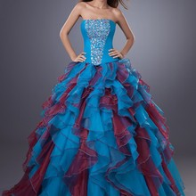 cecelle 2019 Ball Gown Quinceanera Dresse Strapless