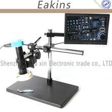 Sale 16MP Full HD 1080P 60FPS HDMI VGA 300X/180X  Industry Digital Microscope Camera Video Camera+ 10.1″ LCD Monitor