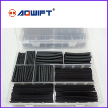цена на Heat-shrinkable tube combination flame retardant home electrician rubber cloth wire cable DIY black box insulation sleeve