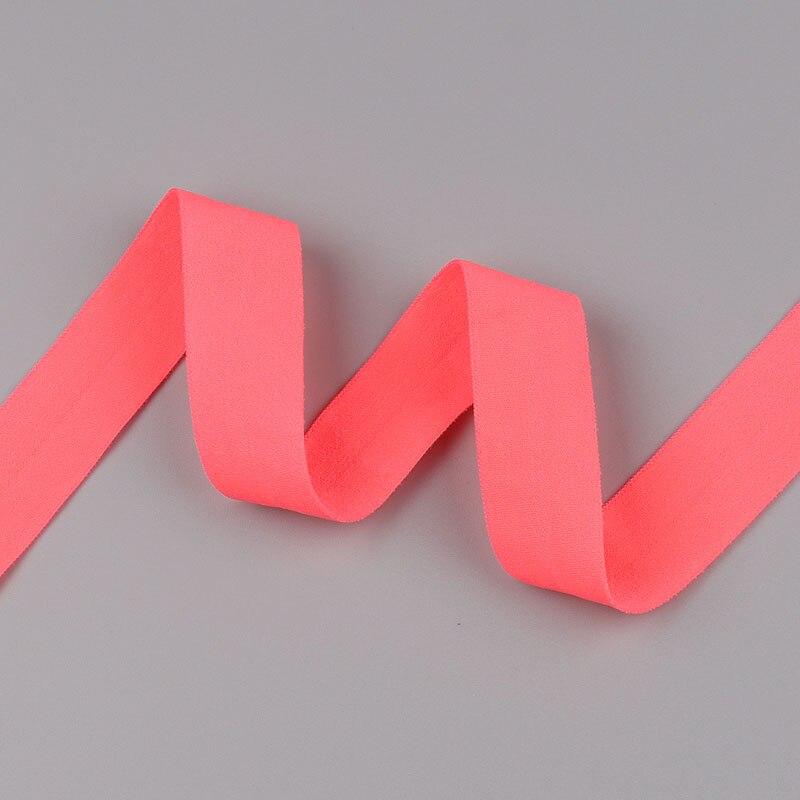 5 ярдов/Лот 20 мм ширина 34 цвета эластичная лента использование для diy аксессуары и одежда галстук лента для волос - Цвет: 26