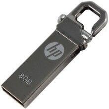 2017 Promoción de Venta Caliente Usb 2.0 Cordón Rectángulo V250w Usb Memoria Usb Flash Drive Pendrive Regalo Del Coche Disco, 8 gb Personalizada