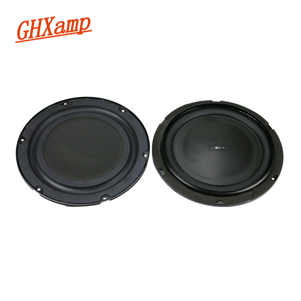 GHXAMP 8 Inch 245MM Bass Radiator Passive Rubber Vibration Diaphragm Shock Basin Low Frequency 8 Inch Woofer Speaker DIY 2PCS