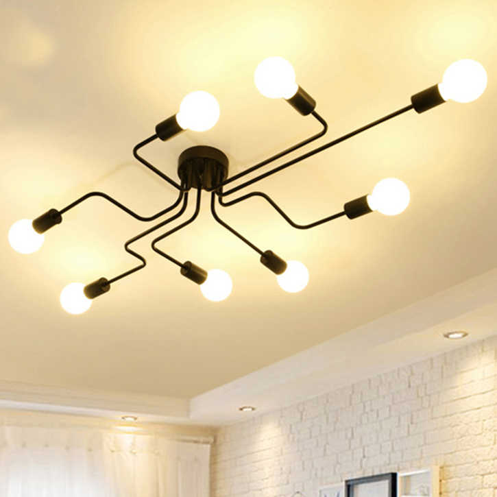 Modern LED Ceiling Chandelier Lighting Living Room Bedroom Chandeliers Creative Home Lighting Fixtures Lustre Lamp Luminaria