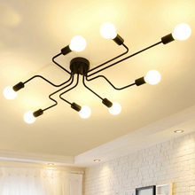 Modern LED Ceiling Chandelier Lighting Living Room Bedroom Chandeliers Creative Home Lighting Fixtures Lustre Lamp Luminaria modern led chandelier lighting transparent glass bubble ball chandeliers for living room lustre de cristal lustre para sala lamp