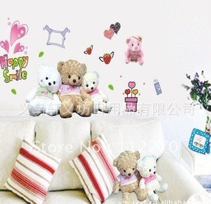 3pcs Free Shipping 50*70CM PVC New  Home/Kids Rooms DIY Decoration Wall Stickers 002001 (52)