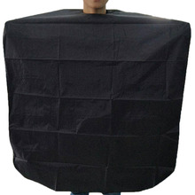 Black Waterproof Adult Salon Hair Cut Hairdressing Barber Hairdresser Capes Gown Cloth HS11