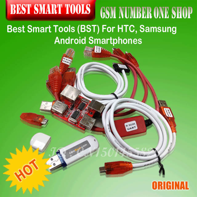gsmjustoncct BST dongle for HTC SAMSUNG xiaomi unlock screen S6 S3 S5 9300  9500 lock repair IMEI record date Best Smart dongle