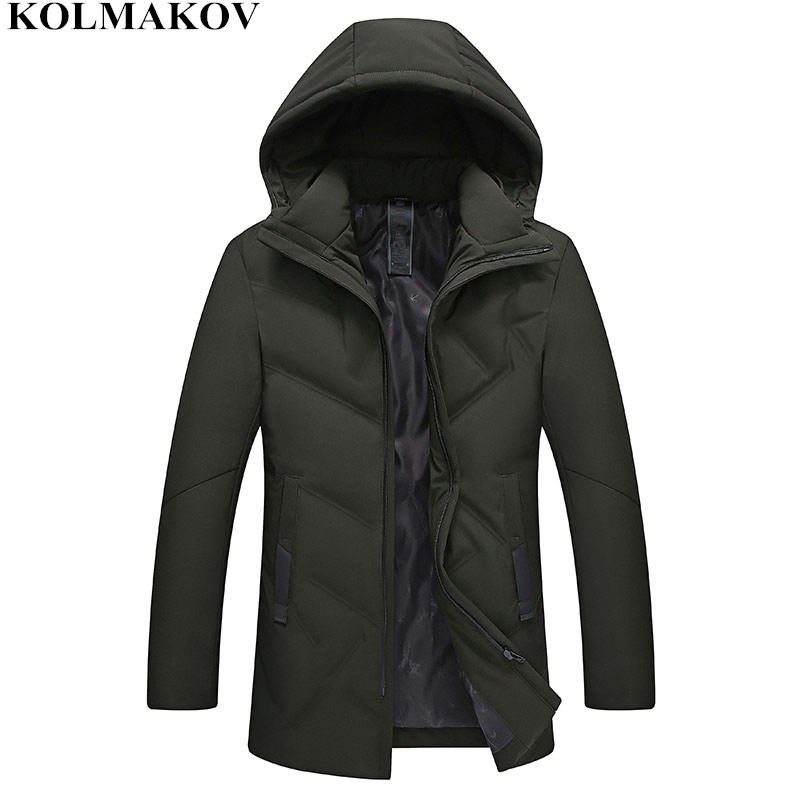 KOLMAKOV New Winter   Down     Coats   men Hooded mens Parkas slim fit thicken Jackets homme casual good quality   coats   Plus Size M-4XL