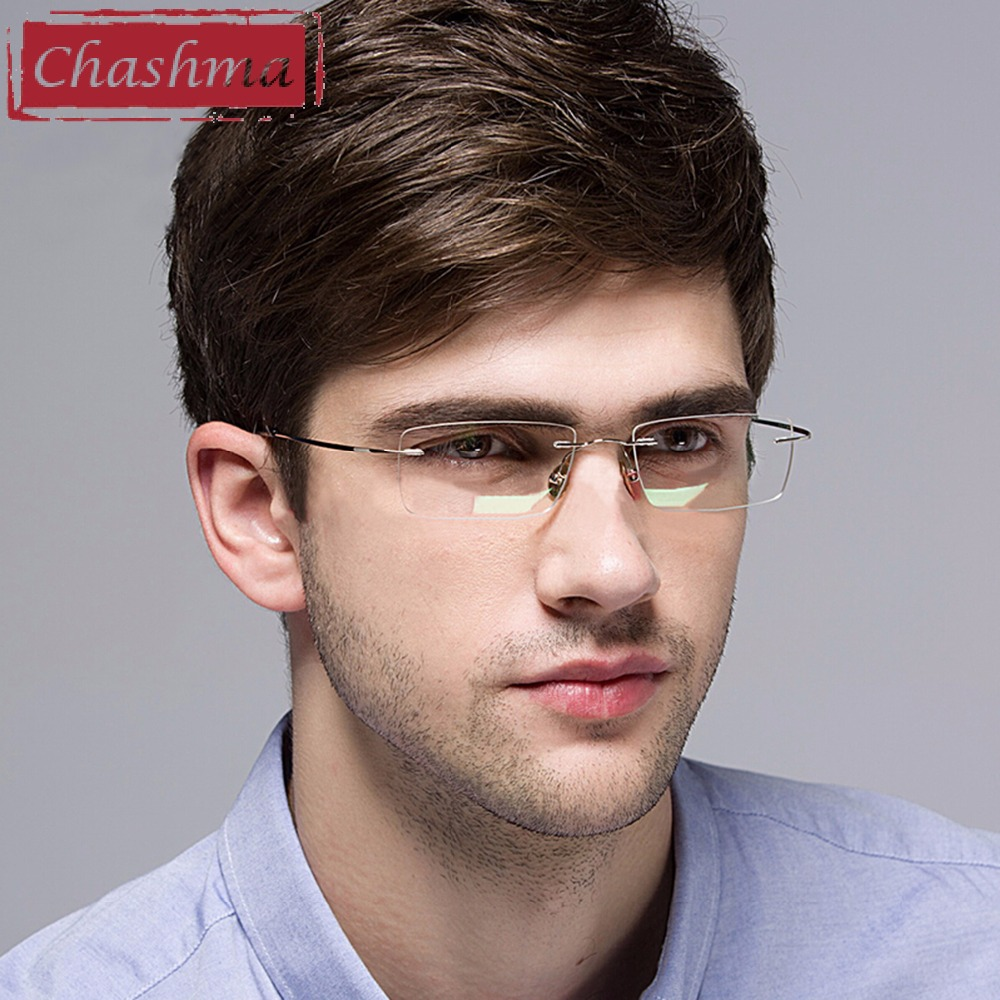 Chashma Eyewear armacao for oculos de grau Frames Titanium Eye Glasses Frame Frames Optical Glasses for Women and Men