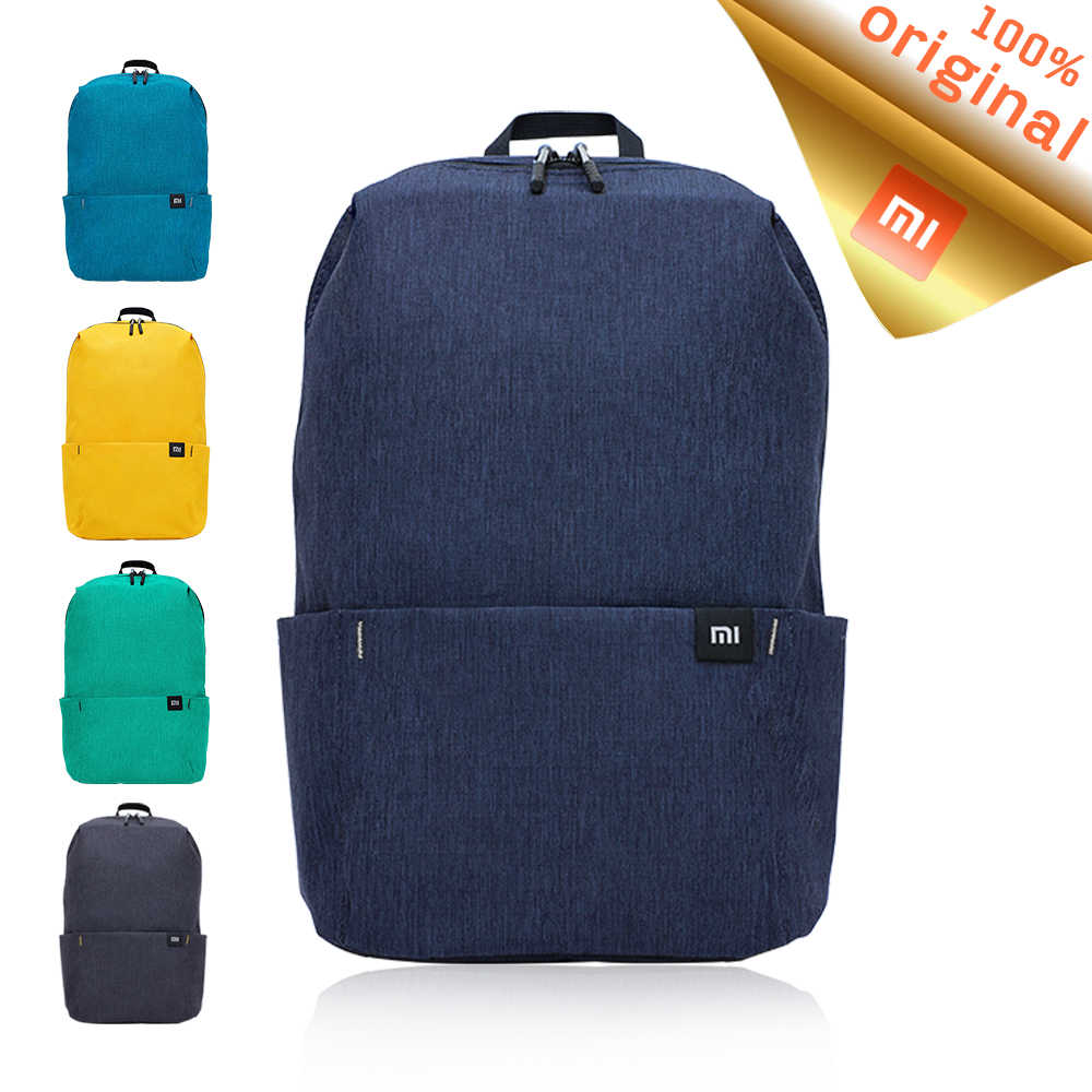 Original Xiaomi Mi Backpack Small Size 10L Capacity Urban Leisure Back Pack  Colorful Men Women Sports 8b230d5c79482