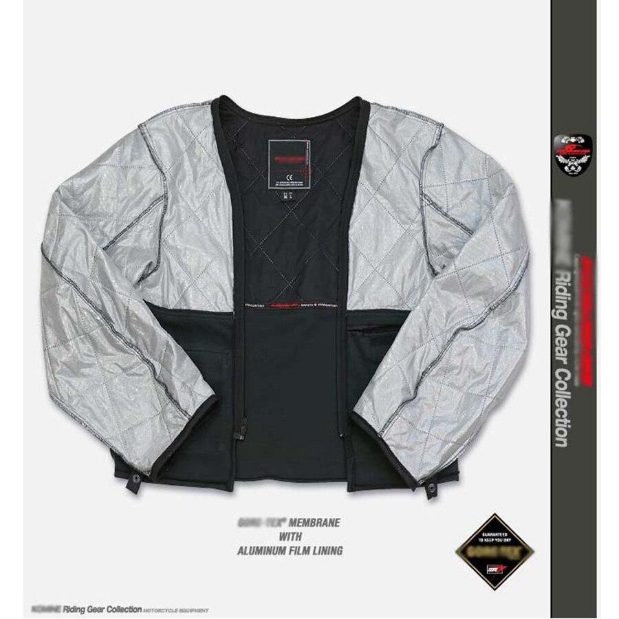 Livraison gratuite 1 set Motocross veste Moto coupe-vent imperméable garder au chaud hors route vêtements Moto costumes Moto veste et pantalon - 4