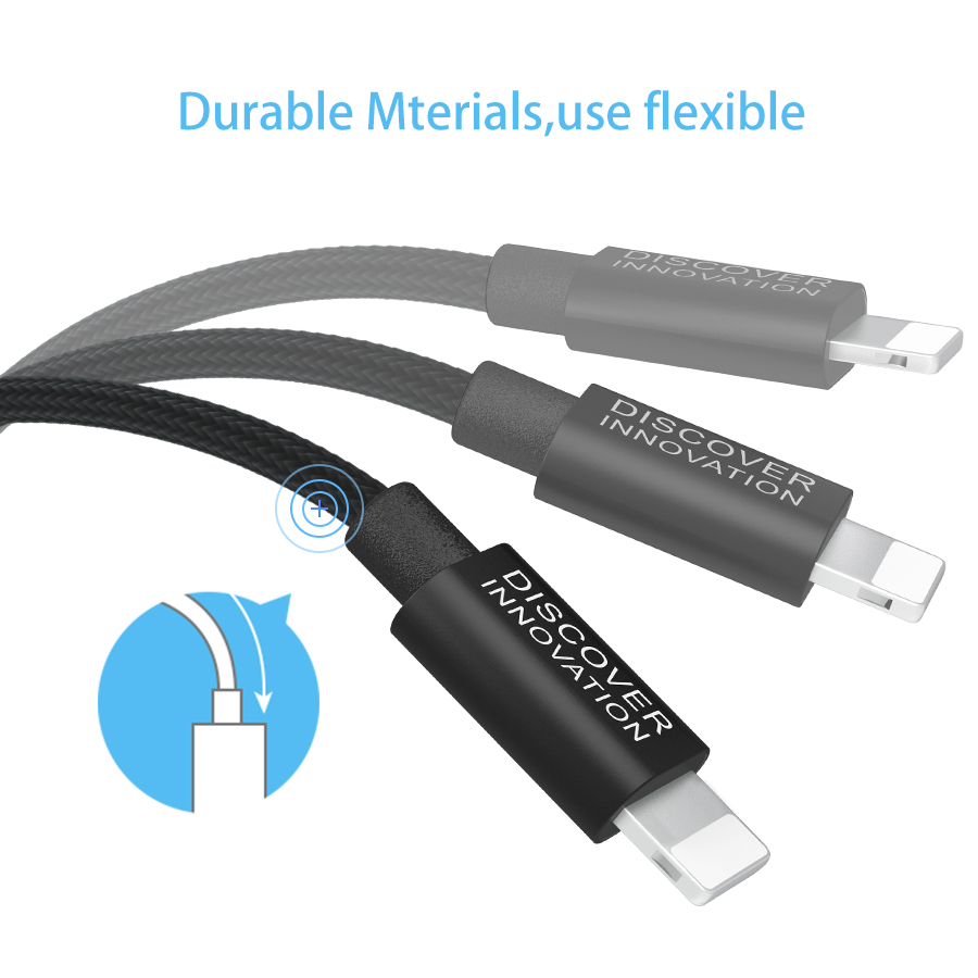 NILLKIN USB Data Cable 5 5s se Cables For iPhone Lightning Cable Charger For iPhone 7 6 6s 8 Plus Xr X Xs Max iPad Charging Cord in Mobile Phone Chargers from Cellphones Telecommunications