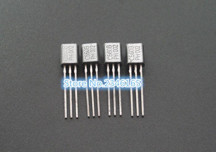 50PCS BC550C + BC560C each 25pcs BC550 BC560 TO92 Transistor DIP-3 45V 0.1A TO-92 New Original