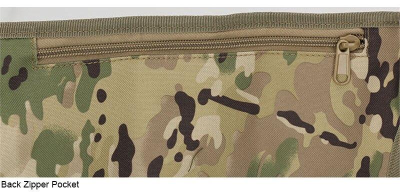 Scione tático molle cintura saco militar caouflage