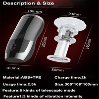 USB charge Ass sex toys for men Silicone Vagina real pussy Male Masturbator for man Sex machine Mens sex toys Gadgets for men