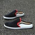 2017 Новые Летние Мужчины Обувь Воздухопроницаемой Сеткой Плоские Случайные Сандалии Прохладный Легкий Полый Отверстие Пляж Surf Beach Sandalias