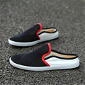2017 New Summer Men Shoes Breathable Mesh Flat Casual Sandals Cool Lightweight Hollow Hole Beach Surf Beach Sandalias