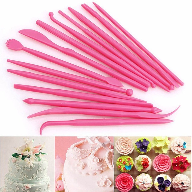 14Pcs Plastic Clay Sculpting Set
