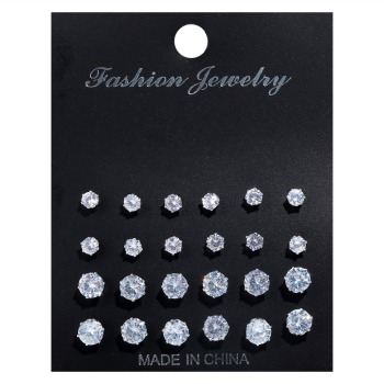 Stud Earrings Set for Women Earrings Jewelry Women Jewelry