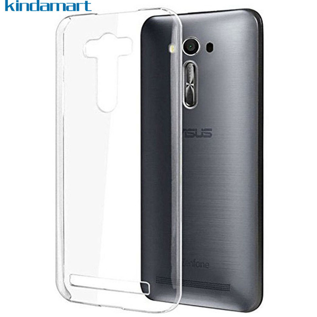 huge selection of 914a4 d9f96 US $1.99 |Transparent Phone Case Zenfone 2 Laser Case Soft Cover Silicone  Case For ASUS Z00ED ZE500KL ZE500KG Slim Protective Cover Case-in Fitted ...