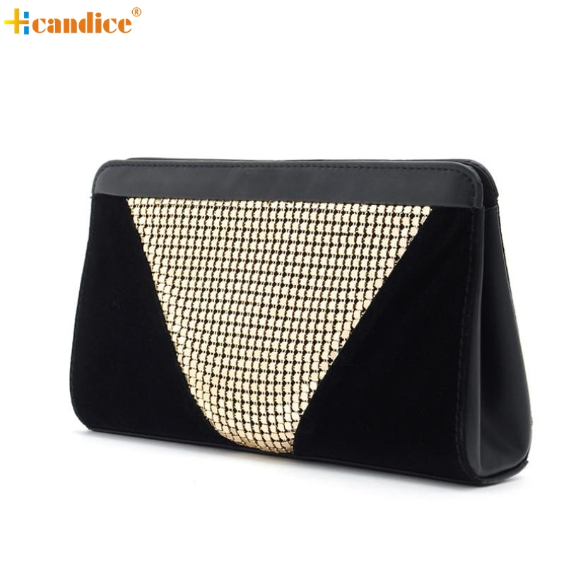 Naivety Women Day Clutches Handbag Lady Dazzling Sequins Glitter Evening Bag Purse 2017 New Fashion AUG03 drop shipping new 2015 fashion women day clutches shiny red and black evening clutch handbag female bolsa feminina pequena lady purse hand bag