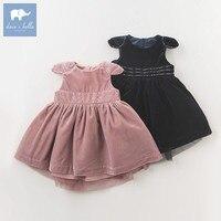 DB5963 dave bella jesień księżniczka baby girl w sukienka urodziny dzieci moda suknia balowa projektuje ubrania dzieci vestido