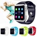 2016 A1  Men Women Fashion Wrist Watch FitnessTracker Bluetooth Smart Watch Wrist Watch Sport Watch for iPhone Samsung Xiaomi