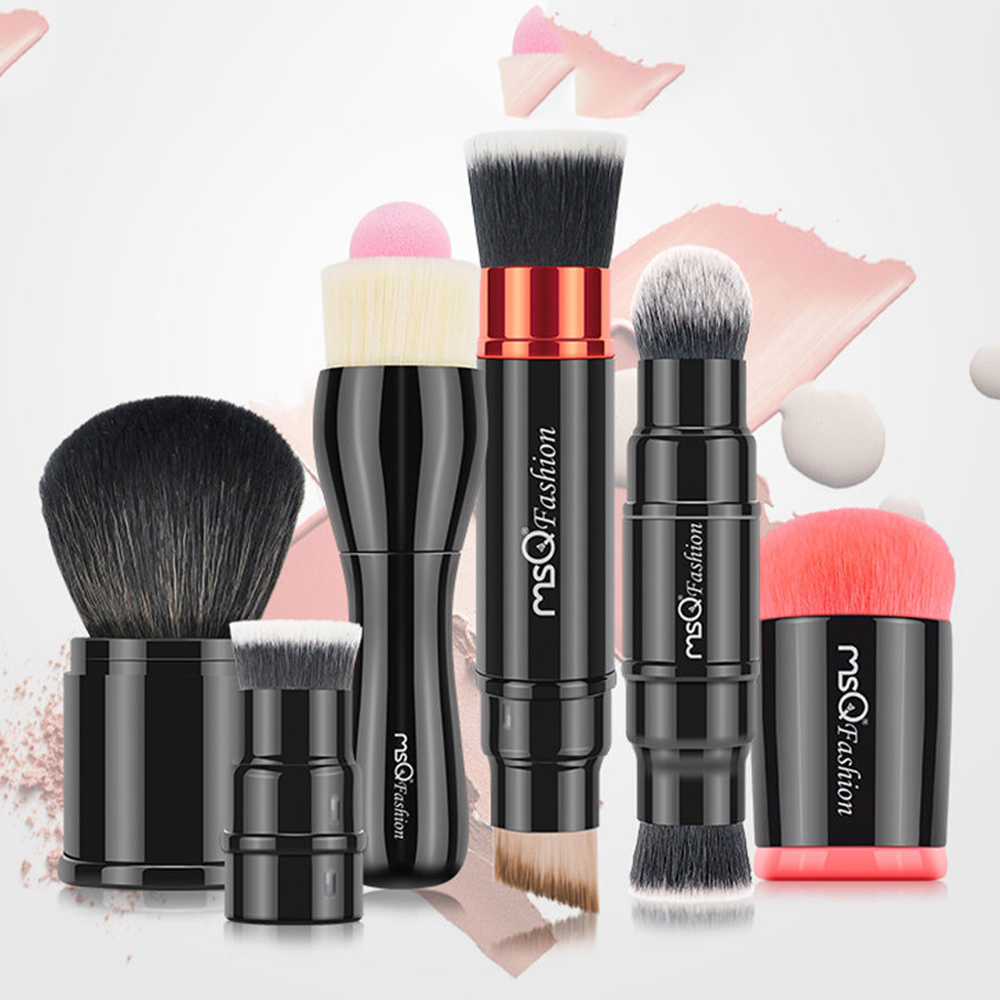 2017 Professional 1Pcs Beauty Women Powder Single Soft Face Cosmetic Makeup Brush Big Loose 12pcs professional soft cosmetic face brush finishing powder blush brush sets for women with red cloth bag