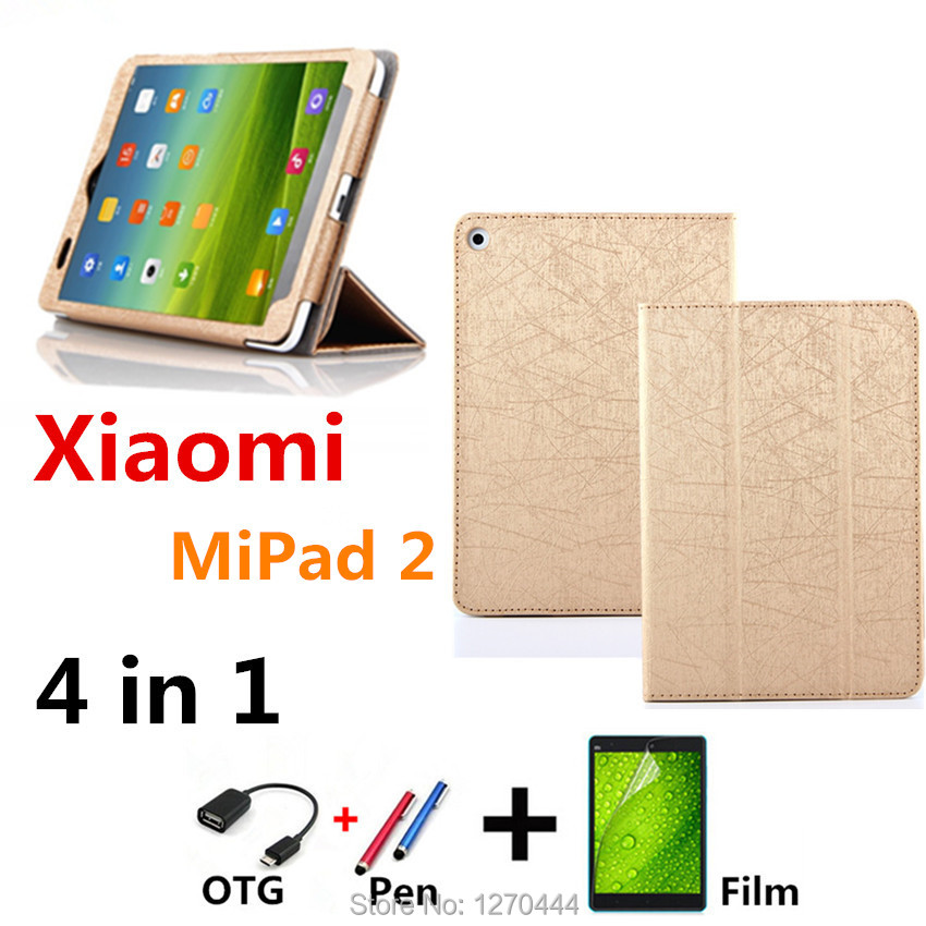 Oracle lines cover For 2017 Xiaomi Mi Pad 3 mipad3 Leather stand Protective Cover for Xiaomi