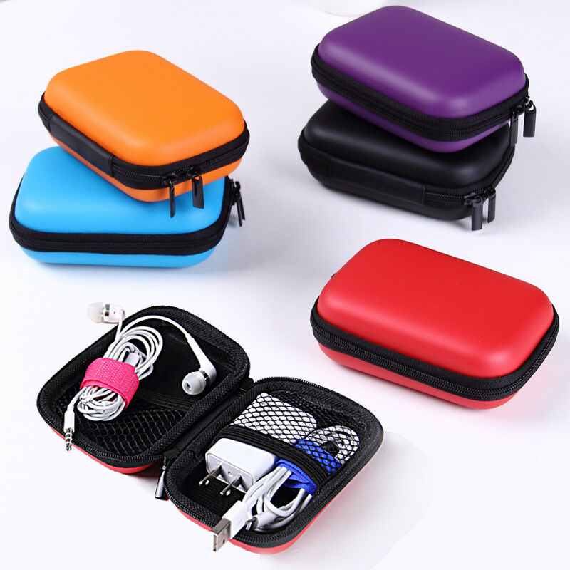 Image 3 - EDC Case Storage Bag Pouch Box for SD TF Card Earphones Headphones Headset MINI-in Storage Boxes & Bins from Home & Garden