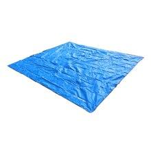 AT6220 420D Oxford Camping Mat Tent Sun Shelter Waterproof Picnic Sand beach Moisture-proof Pad Playing Mat(blue L)