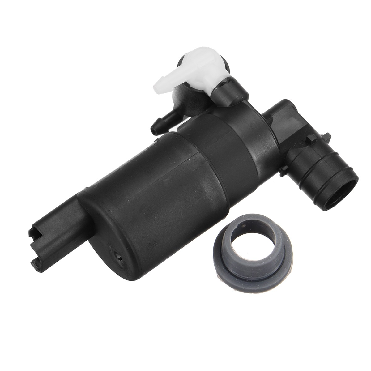 1pc 12V Windshield Washer Blcak Pump Easy installation Direct Replacement