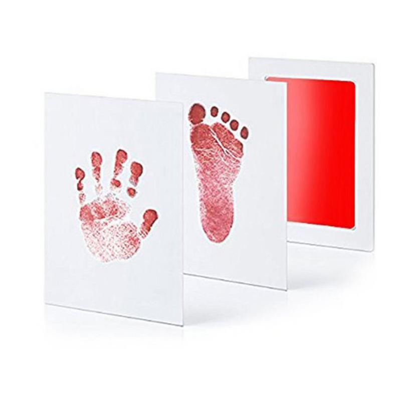 MrY Baby Ink Pad Paw Print Pads Handprint Footprint Newborn Care Air Hand Foot Infant Imprint Kit  Gifts Souvenirs Present New