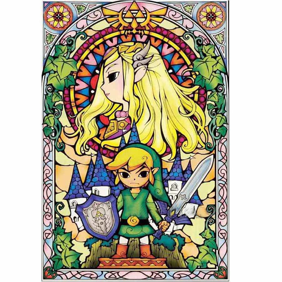 diamond painting The Legend Of Zelda Breath 5d Cross Stitch mosaic Kits Full Drill Resin Diamond Embroidery Diamond Pattern Z94 in Diamond Painting Cross Stitch from Home Garden