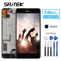 Srjtek For NOKIA Lumia 630 LCD Touch Screen With Frame For Nokia Lumia630 Display Digitizer Assembly