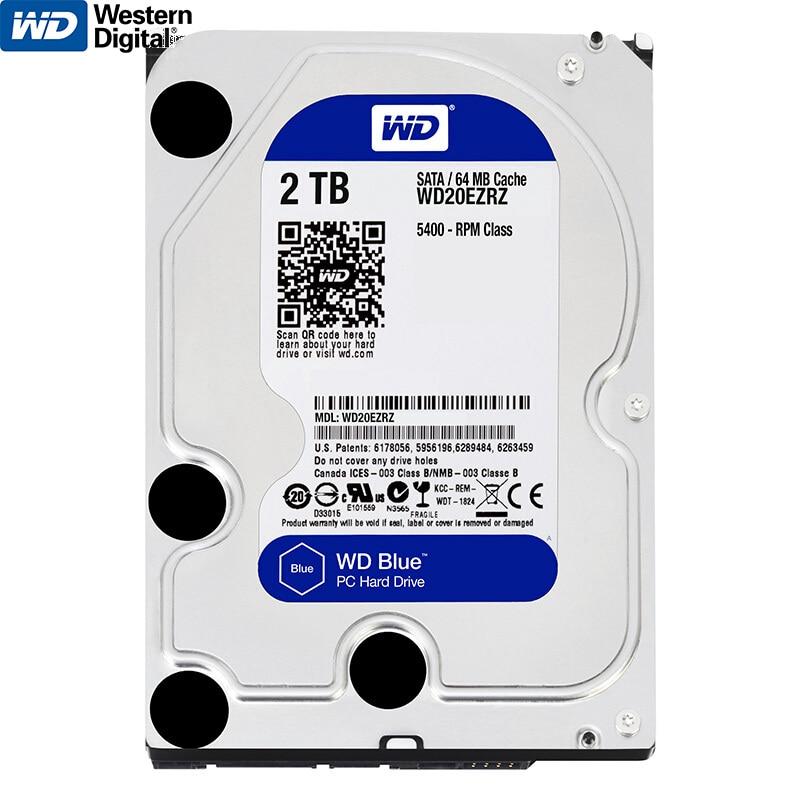 Genuine Western Digital WD 2 TB HDD Interno Hard Disk Drive da 3.5