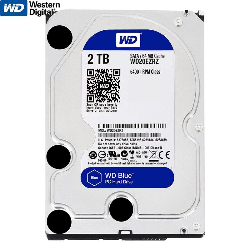 Véritable Western Digital WD 2 TO HDD Interne disque dur Lecteur 3.5