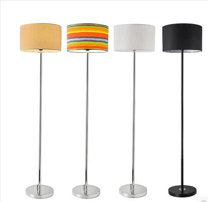 Floor lamp.. Bedroom head office desk lamp.. Intelligent remote control vertical lamp head lamp