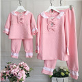 Fashion family matching outfits mother kids pajama set mother and daughter clothes sets mother daughter pajamas set home wear