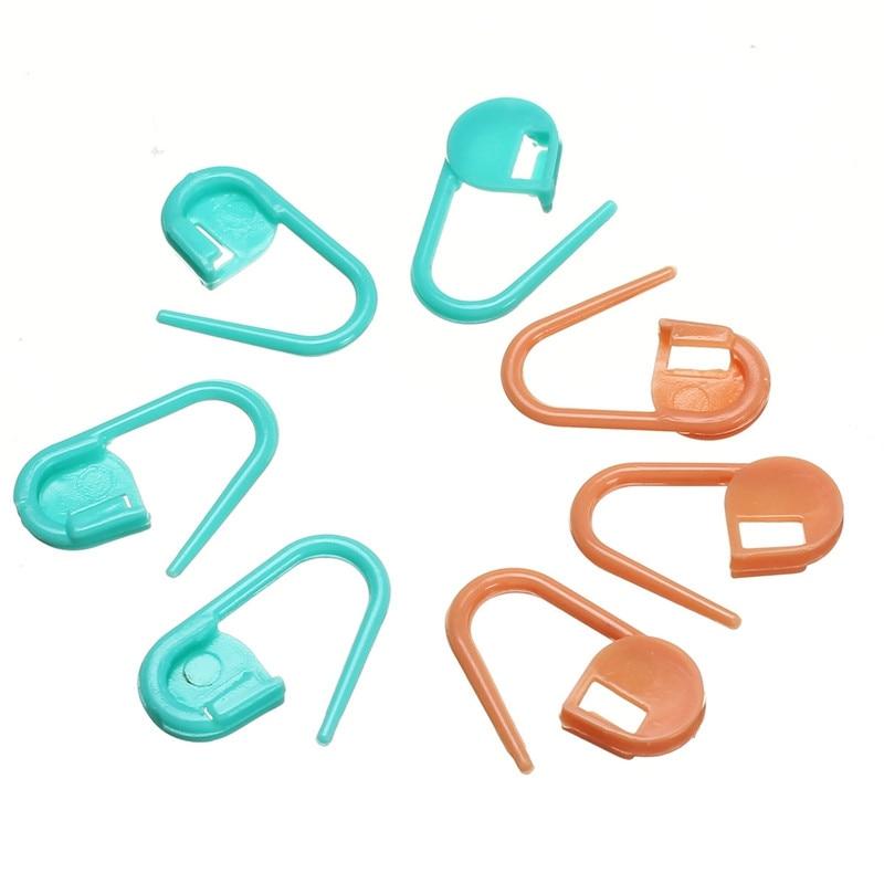 ⑦20 unids/set colorido que hace punto del ganchillo locking Stitch ...