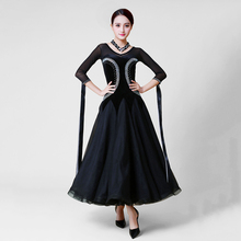 Standard Ballroom Dance Dress Women Elegant Black Waltz Competition Dancing Costume High Quality Tango Ballroom Dance Dresses