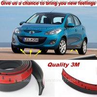 ÖN TAMPON Saptırıcı Dudak/Mazda 2 Için Mazda2 M2 Demio DW DY DE DJ/Ön Spoiler Etek Araba Için tuning Görünüm/Vücut Kiti/Şerit