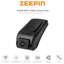 Promotion Zeepin F150B Hidden Dash Cam DVR WiFi GPS Car Driving Recorder 1080P FHD App View WDR Night Vision
