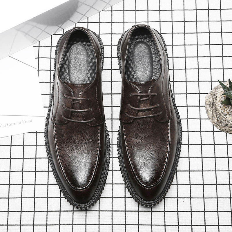 De Mens Classique Chaussures Cuir Luxe Noir marron Hommes Formelle Marque En Msw8118118 Élégant Designer r40rqw