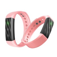 Fitness Tracker Smart Bracelet ID115Lite Simple Three Color LED Indicator Light Bluetooth Sport Smart Wristband For