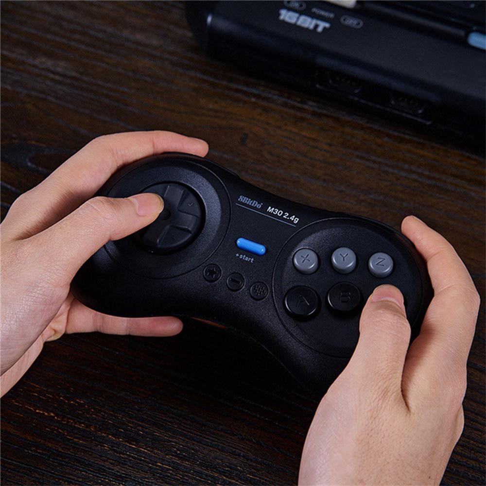 8bitdo M30 Sans Fil Bluetooth Gamepad pour Sega Genesis Mega Drive Style pour Nintend Console de Commutateur De Contrôleur de Jeu avec Récepteur