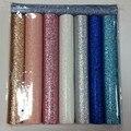 Glitter colorido fronteira 30*138 cm tamanho do uso para artes e ofícios, almofadas, telas, sanefas, cortinas, brilho papel de parede