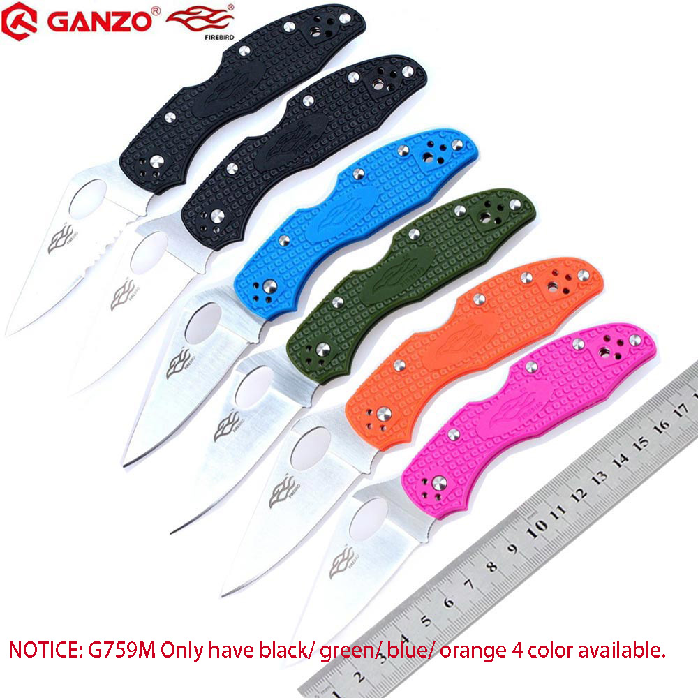 Firebird Ganzo G759M F759M 58-60HRC 440C Blade Pocket Folding Knife Tactical Tool Survival Knife Outdoor Camping Tool EDC Pocket